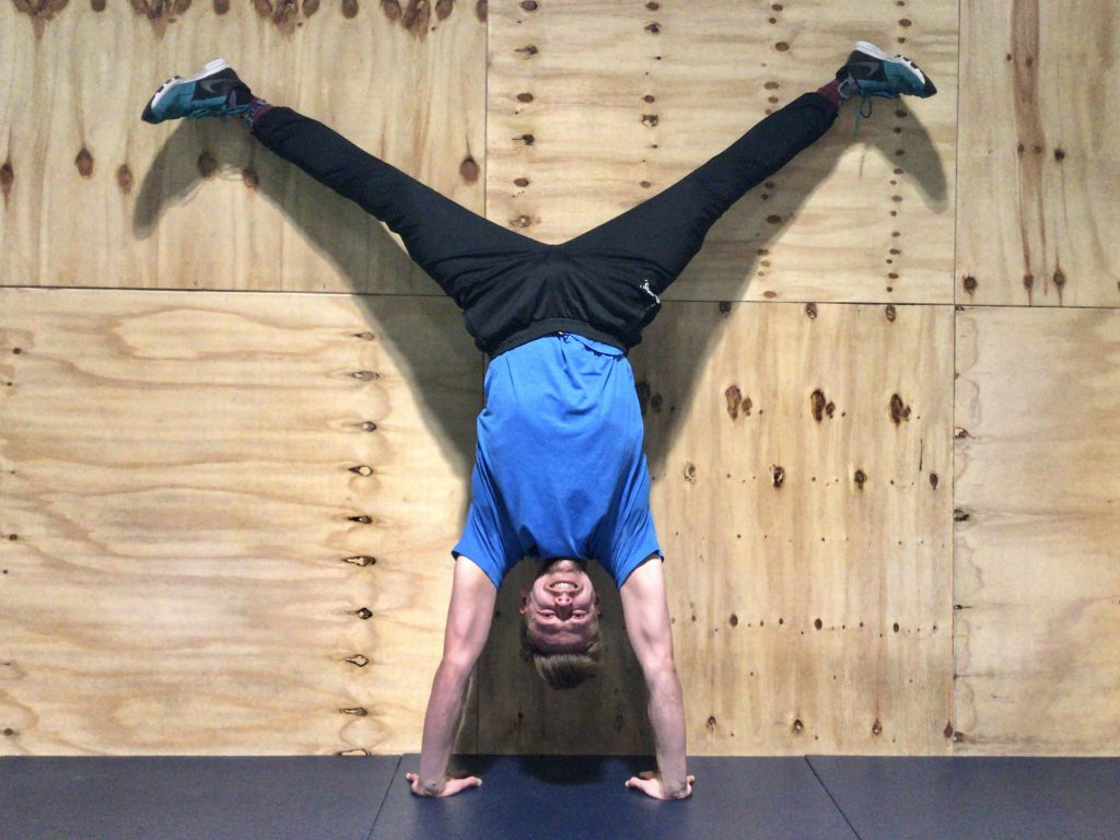Handstands are really fun!